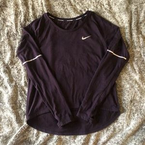 Nike L/S running top, size S